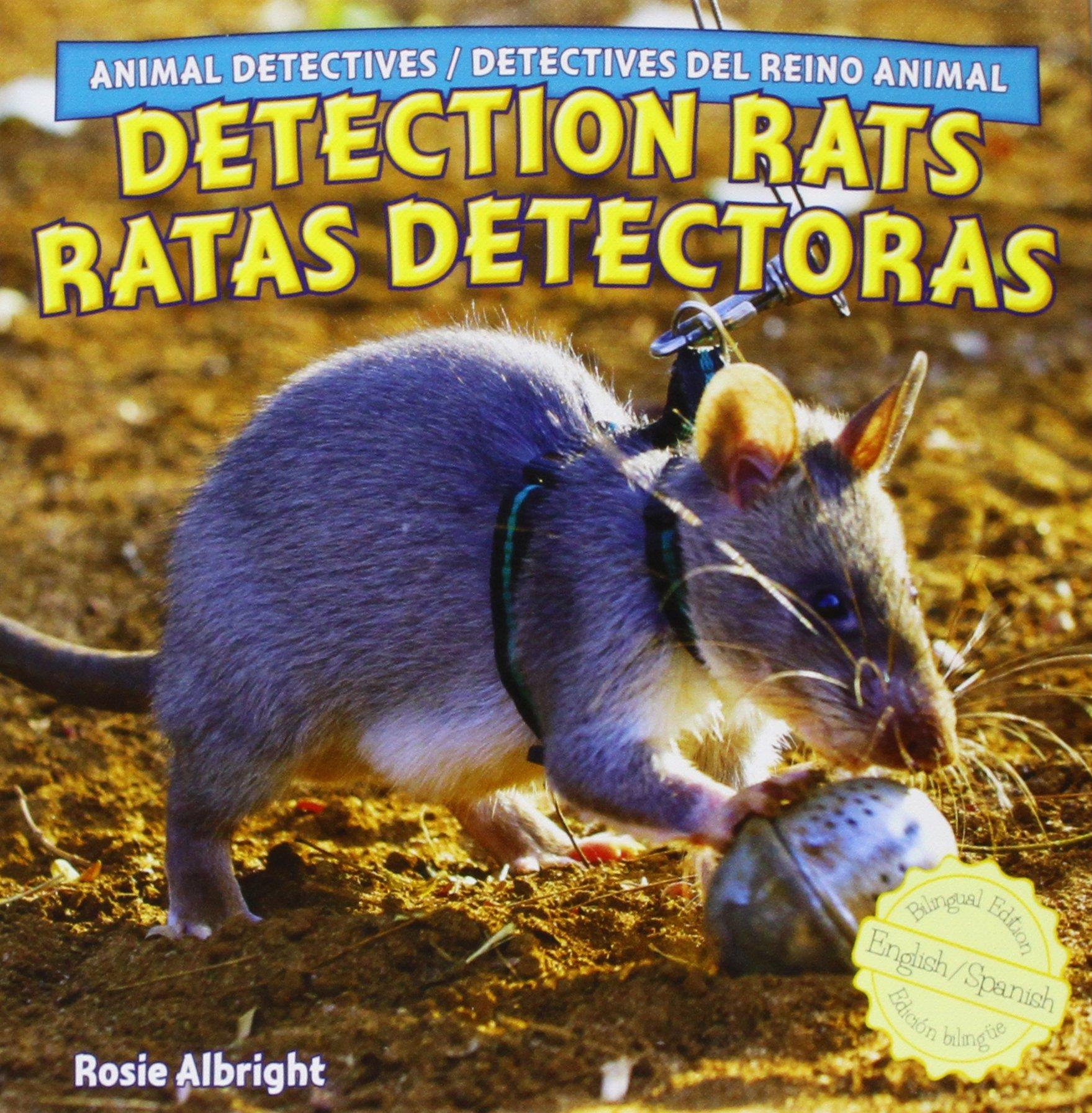Detection Rats / Ratas Detectoras Animal Detectives / Detectives Del Reino Animal: Amazon.es: Rosie Albright, Eduardo Alaman: Libros
