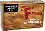 Magnetic Poetry - F Word Kit - Words for