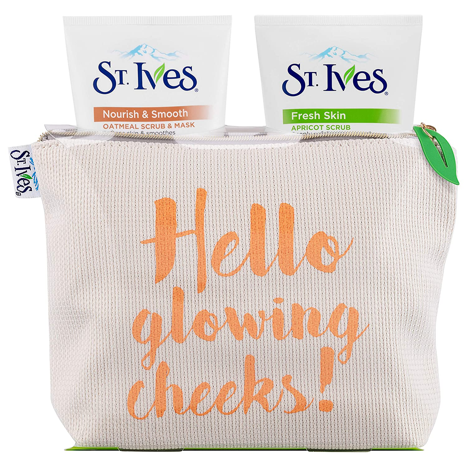 767bdff727c St Ives Hello Cheeks Women s Gift Set with Face Scrub and Face Mask - Gift  Set for Her  Amazon.co.uk  Beauty