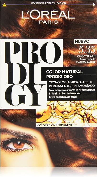 LOreal Paris Prodigy Tinte Permanente 5.35 - 1 unidad