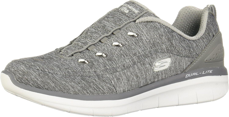 Skechers Women's Synergy 2.0-Scouted Wide Fashion Sneaker