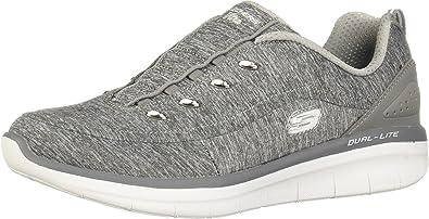 sonrojo Armada Brote  Amazon.com | Skechers Women's Synergy 2.0-Scouted Wide Fashion Sneaker |  Fashion Sneakers