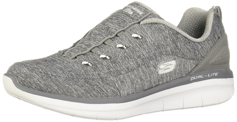 Skechers Women's Synergy 2.0-Scouted Fashion Sneaker B073X9D78N 10 B(M) US|Gray