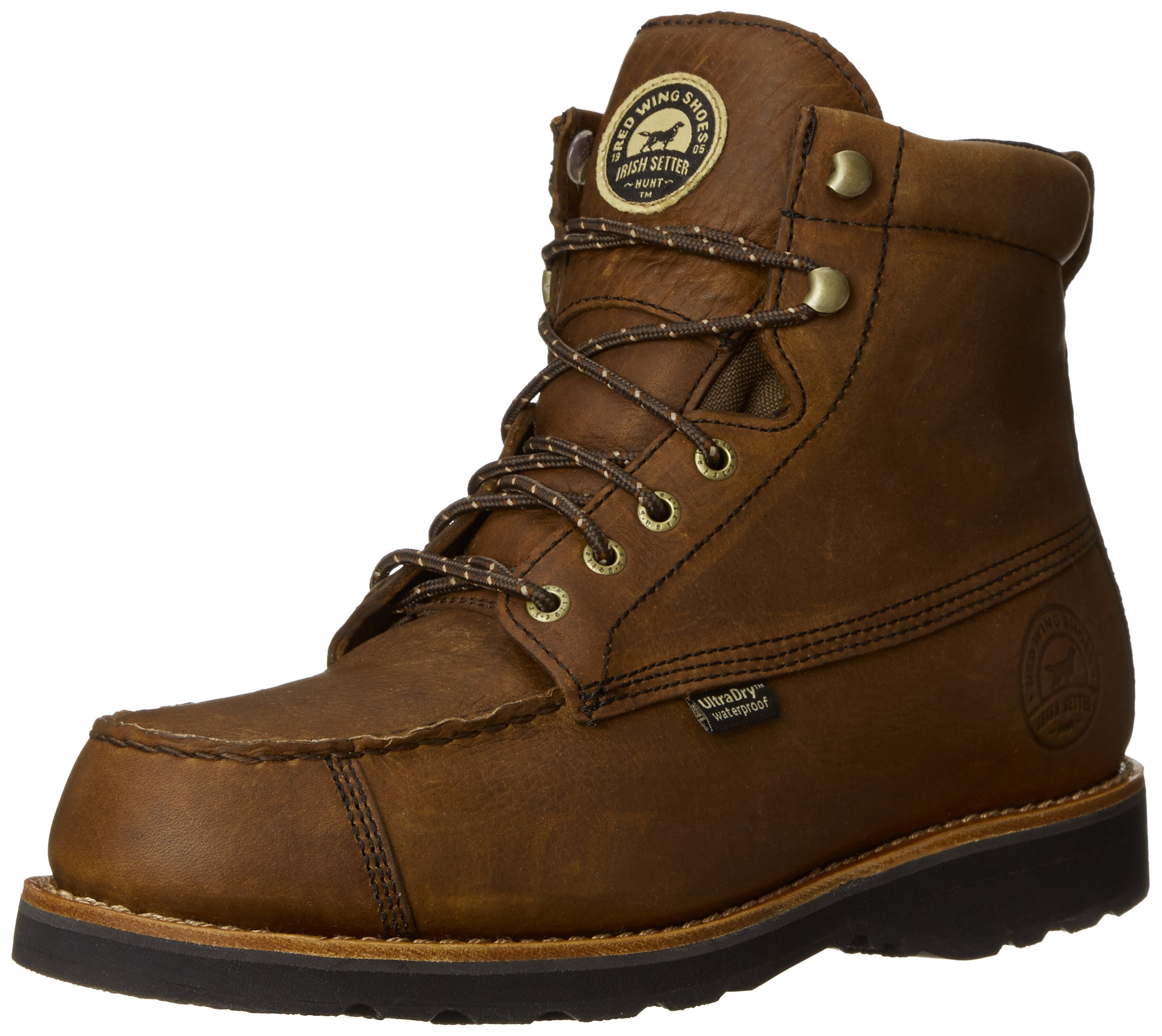 Irish Setter Men's 807 Wingshooter 7'' Upland Hunting Boot,Dark Brown,14 D US