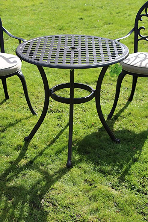 Made for us Table de Jardin Ronde en Fonte d\'aluminium Ø 70 ...