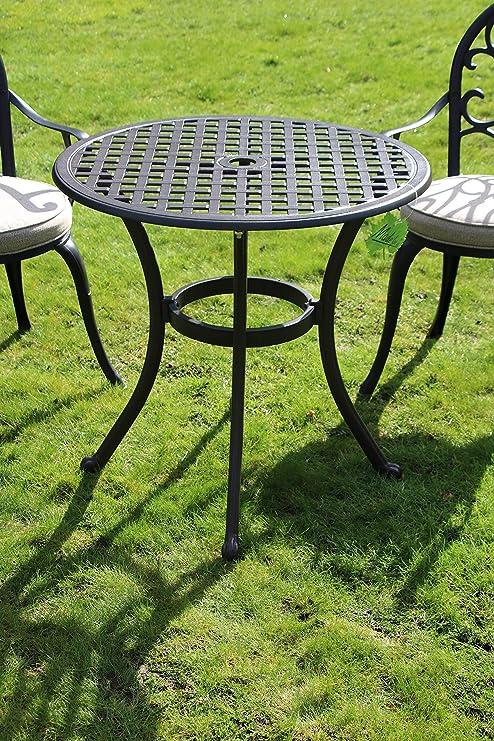 Made for us Table de Jardin Ronde en Fonte d\'aluminium Ø 70 ...