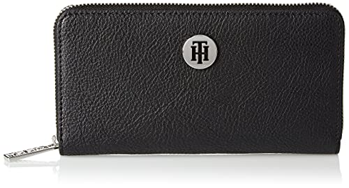 Tommy Hilfiger - Th Core Za Wallet, Carteras Mujer, Negro ...