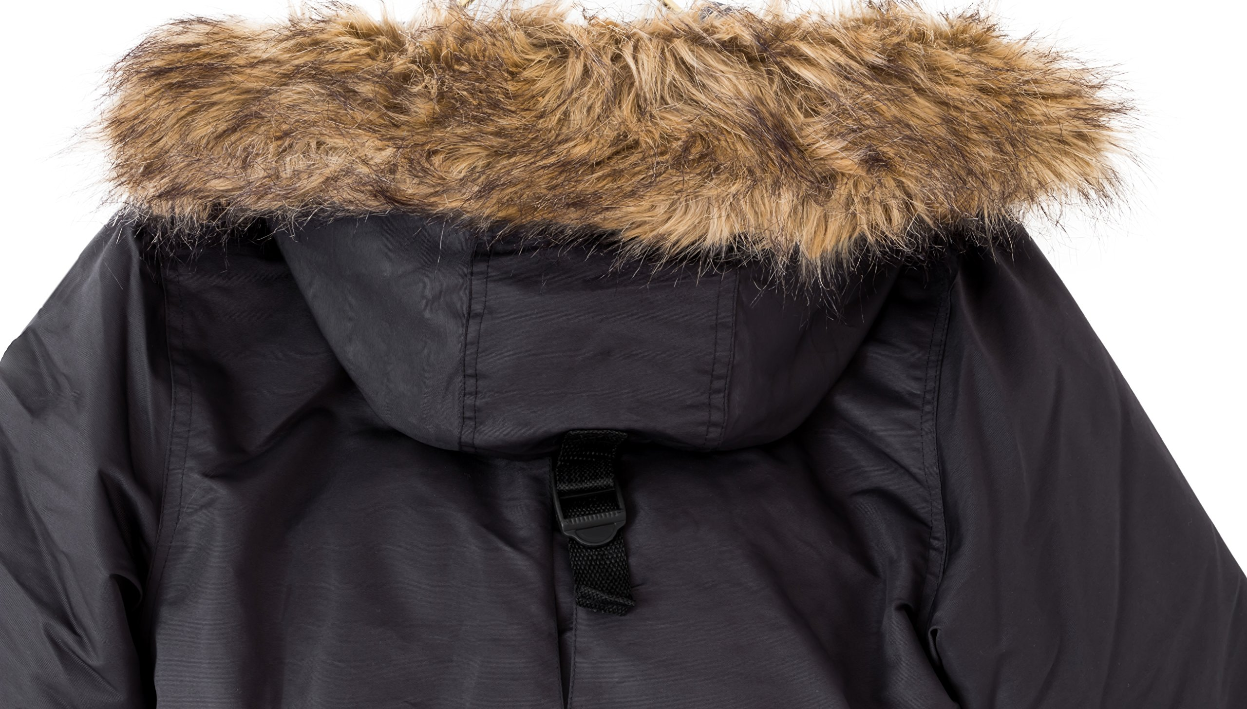 2d8690c1523e The Polar Club Boys  Canada Parka Winter Coat W Removable Fur ...