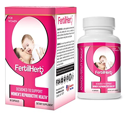FertilHerb® Sumplemento para la Fertilidad de la Mujer | Recomendado por médicos, todo natural