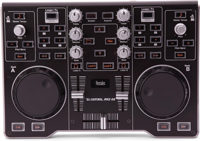 hercules 3.36E+12 - Hercules DJ Control MP3 e2 Mesa de mezclas: Amazon.es: Electrónica
