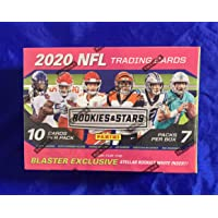 $71 » Factory-Sealed 2020 Rookies and Stars NFL Blaster Box - 7 Packs