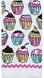 Ritz Kitchen Wears Print Velour Kitchen Dish Towel, Cupcakes