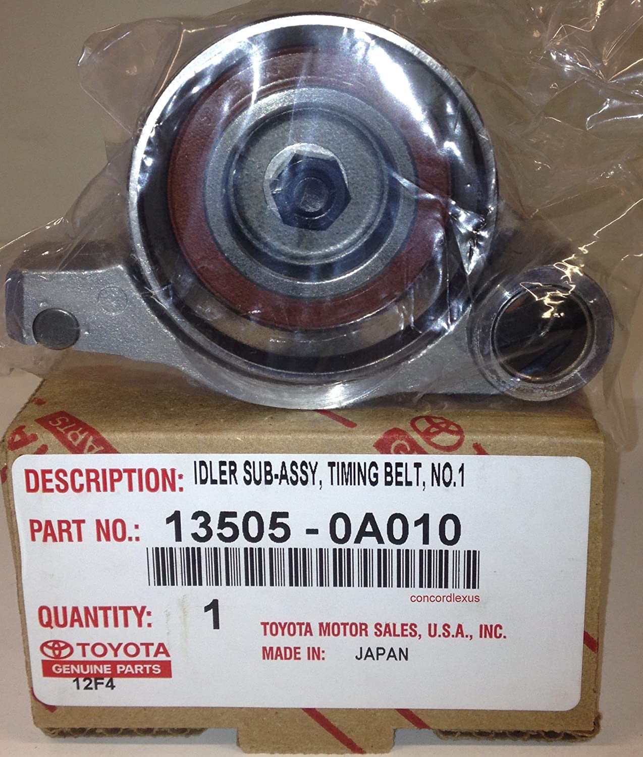 Toyota 13505-0A010 Timing Belt Idler Sub Assembly