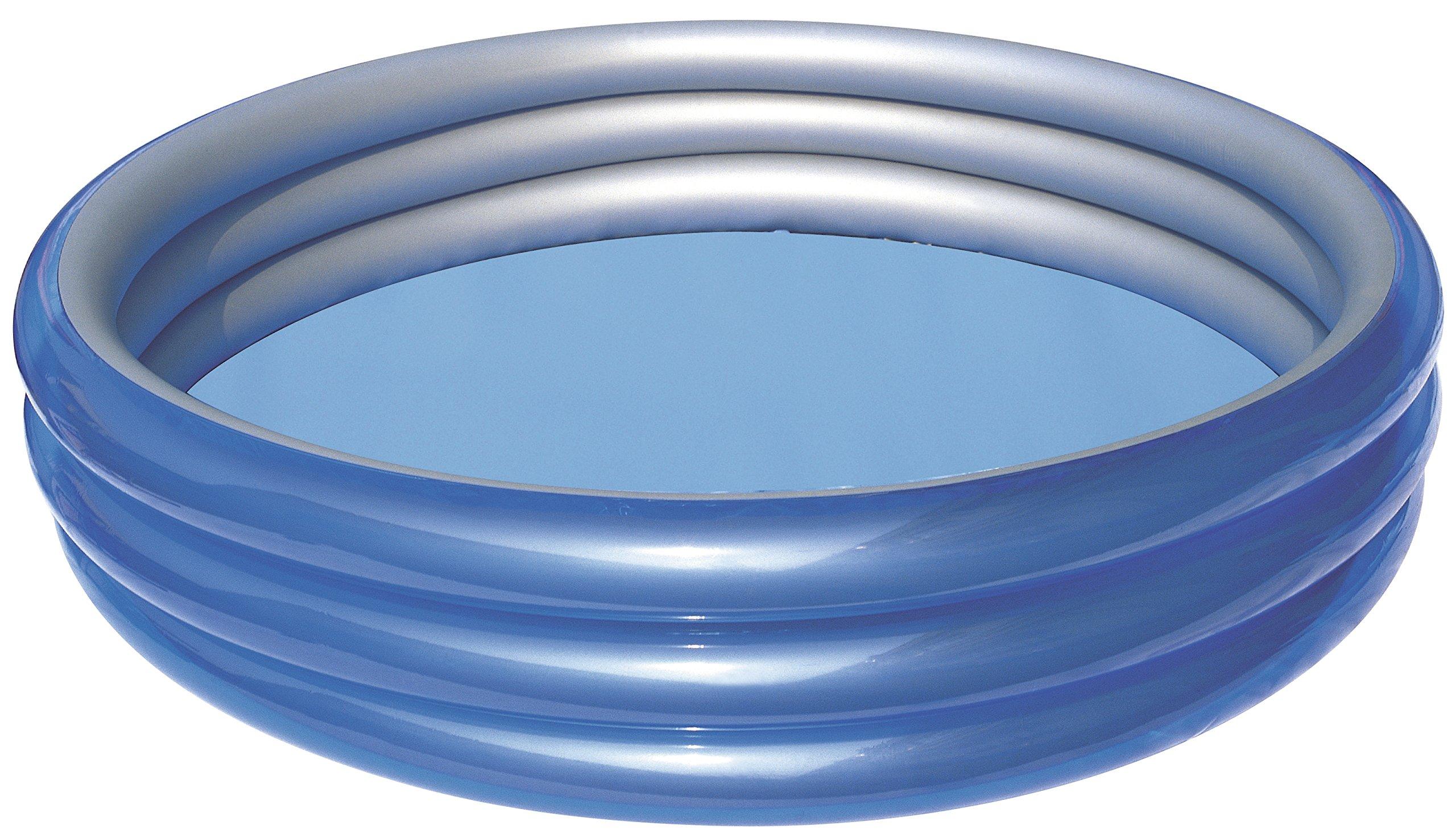 H2OGO! Big Metallic 3-Ring Inflatable Play Pool
