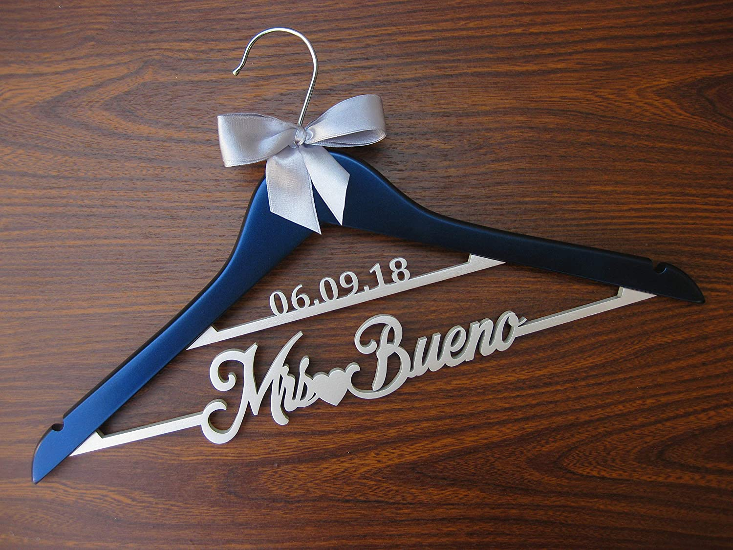 Amazon.com Bride Hanger, Wedding Dress Hanger, Name Hanger