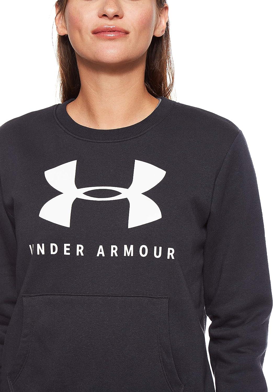 Girls UA Favorite Fleece Crew Neck Top Under Armour Apparel 1289971