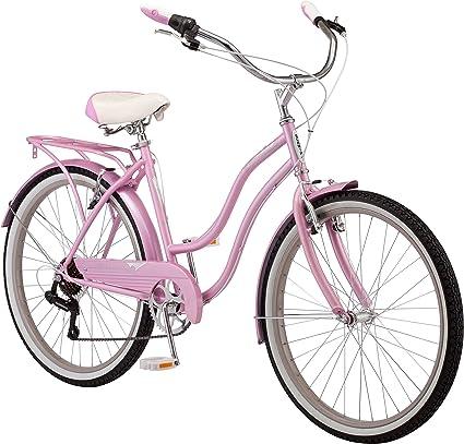 "26/"" Pink Ladies Vintage style Women/'/'s Perla Bike Wheel Cruiser Street Bicycle"