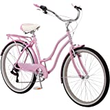 Schwinn Perla Womens Beach Cruiser Bike, 26-Inch Wheels, Multiple Colors