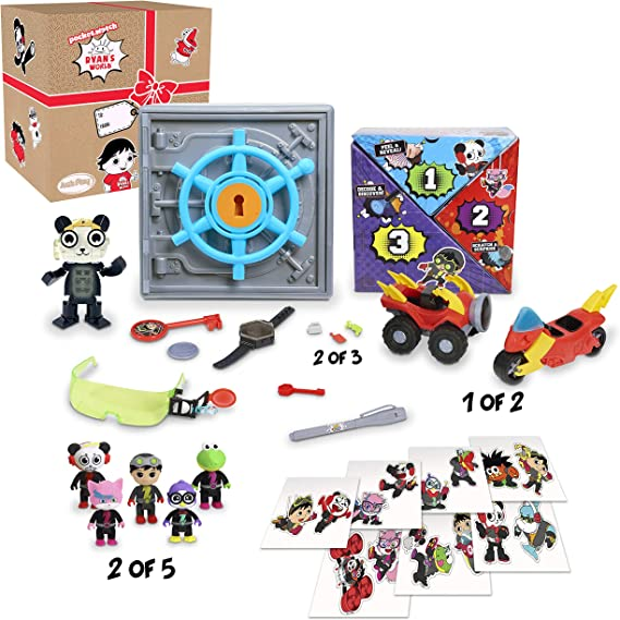 RYAN/'S WORLD Secret Agent Mystery Mission Case Gift Fast Shipping