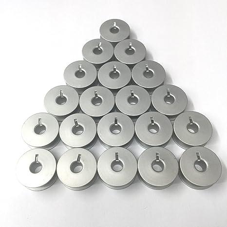 20 aluminio bobinas para PFAFF modelo Home & industrial Máquinas de Coser, 9003, un