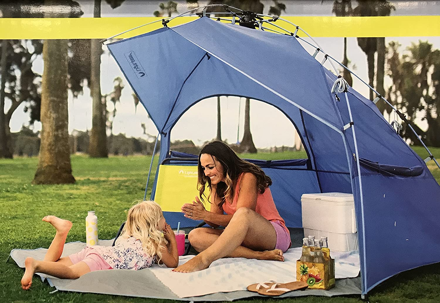 Lightspeed QUICKSHELTER POP UP TENT WITH PORCH CAMPINGFISHINGBEACH