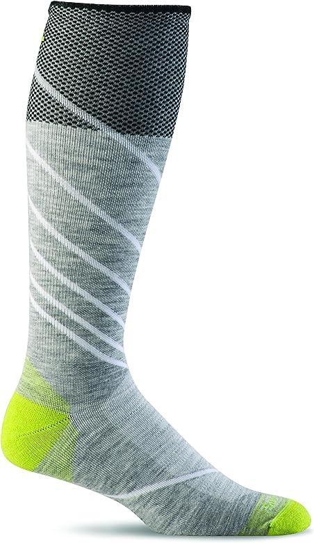 Sockwell Mens Chevron Twill Firm Graduated Compression Sock