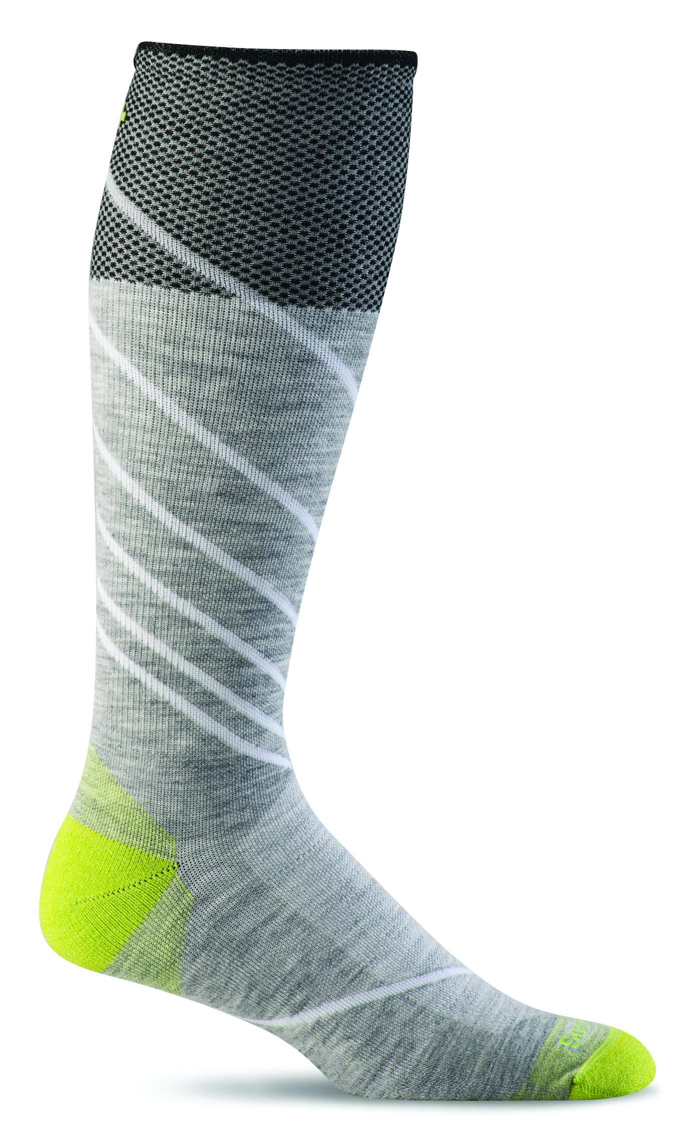 Sockwell Men's Pulse Firm Graduated Compression Socks, Grey, Large/X-Large by Sockwell