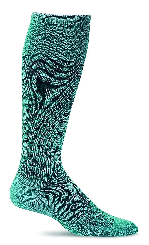 Sockwell Women's Damask Moderate Graduated Compression Socks Goodhew