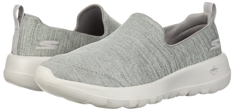 Skechers Women's Go Walk 6.5 Joy-15611 Wide Sneaker B0752XBGSX 6.5 Walk W US|Gray 4cfe8c