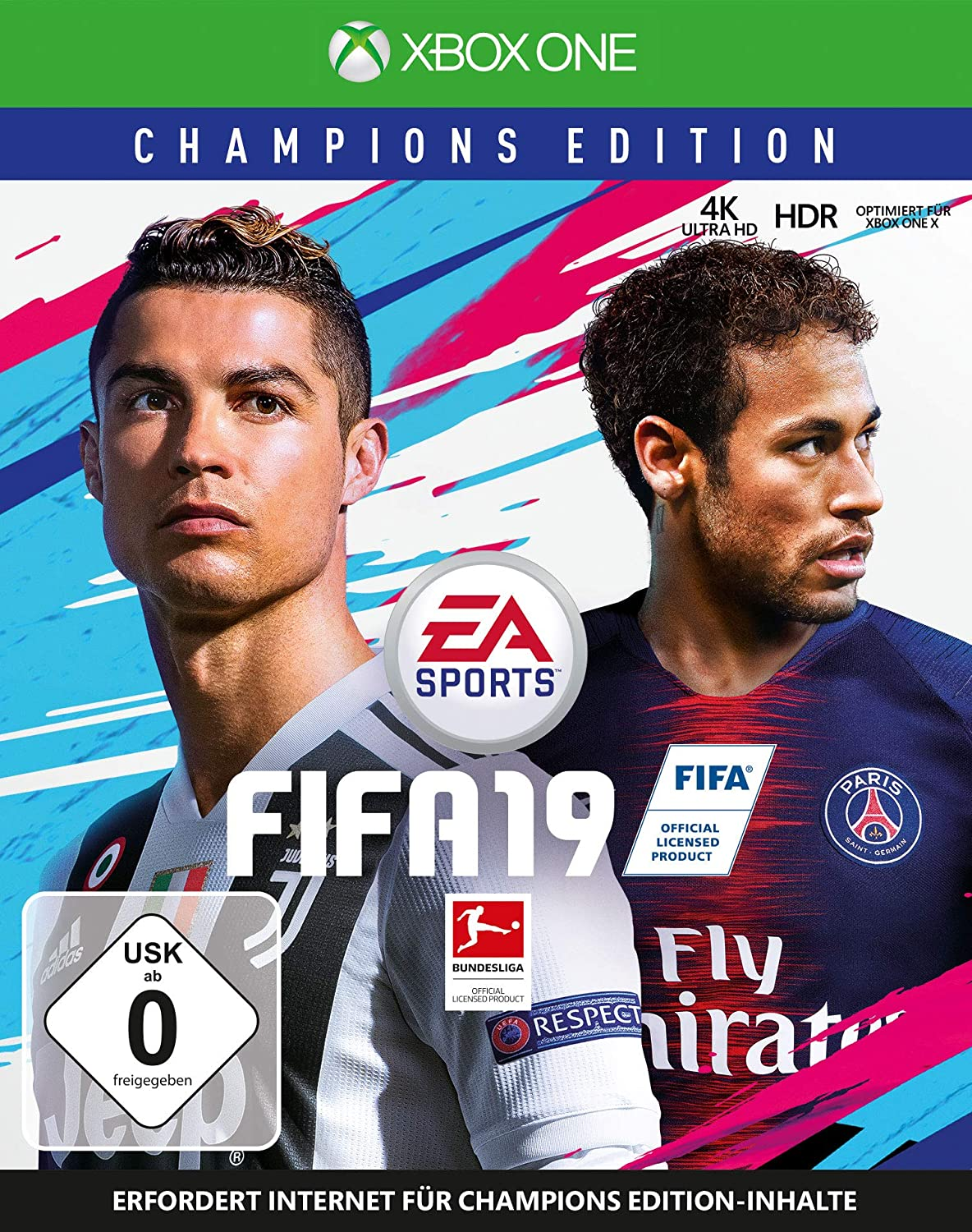 xbox one spiel fifa 19 champions edition 2019 fu ball. Black Bedroom Furniture Sets. Home Design Ideas