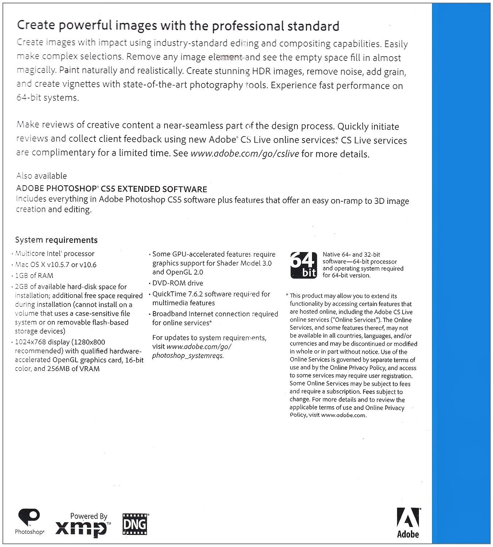 Adobe Photoshop CS5, Upgrade Version from Photoshop CS2/CS3/CS4 (Mac)