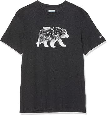 Columbia Hombre Camiseta, Baker Brook, Algodón, 1842003: Amazon.es: Ropa y accesorios