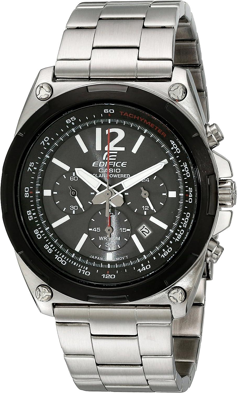 Casio Men s EFR-545SBDB-1BVCF Edifice Tough Solar Stainless Steel Watch