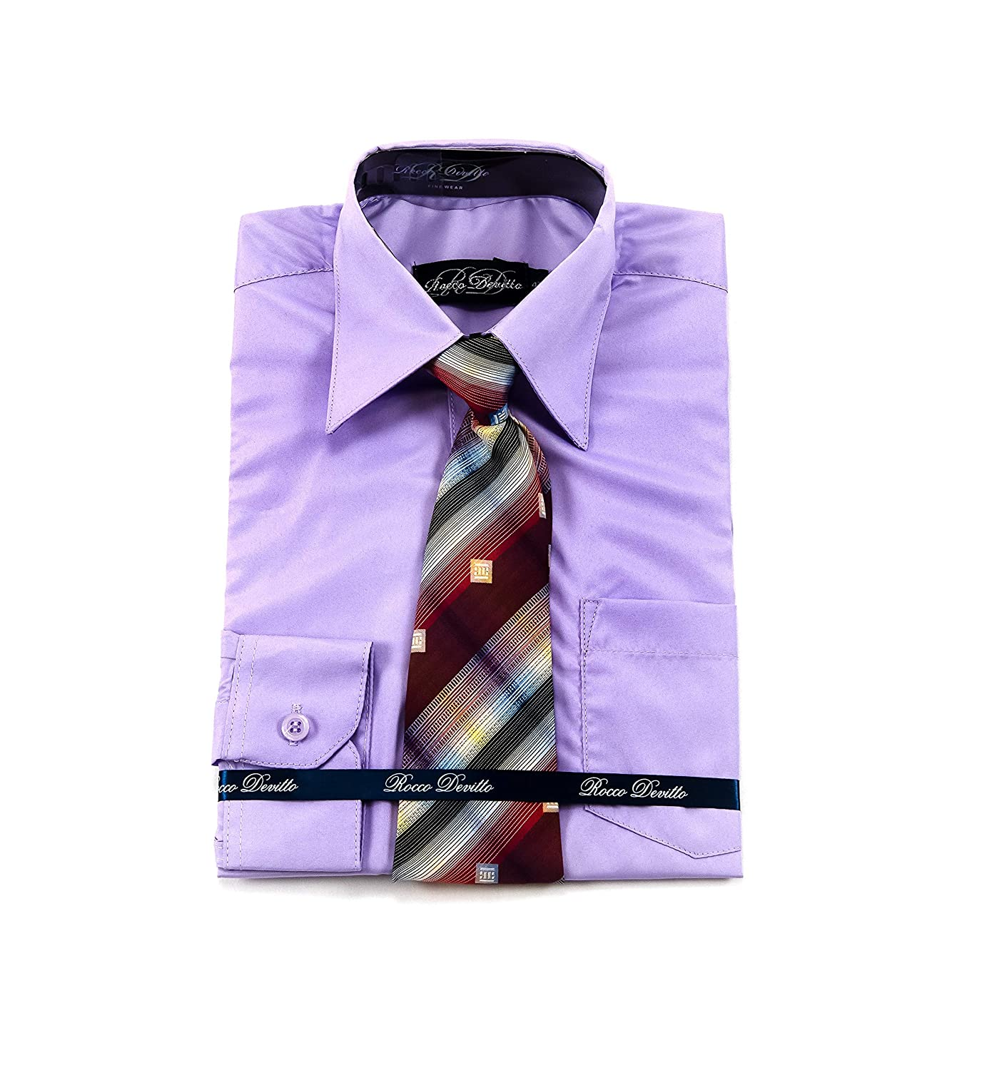 Rocco Devitto 2 Piece Dress Shirt//Lavender