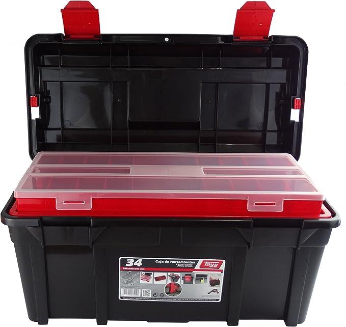 Tayg Caja herramientas plástico n. 34, negro, 580 x 285 x 290 mm ...