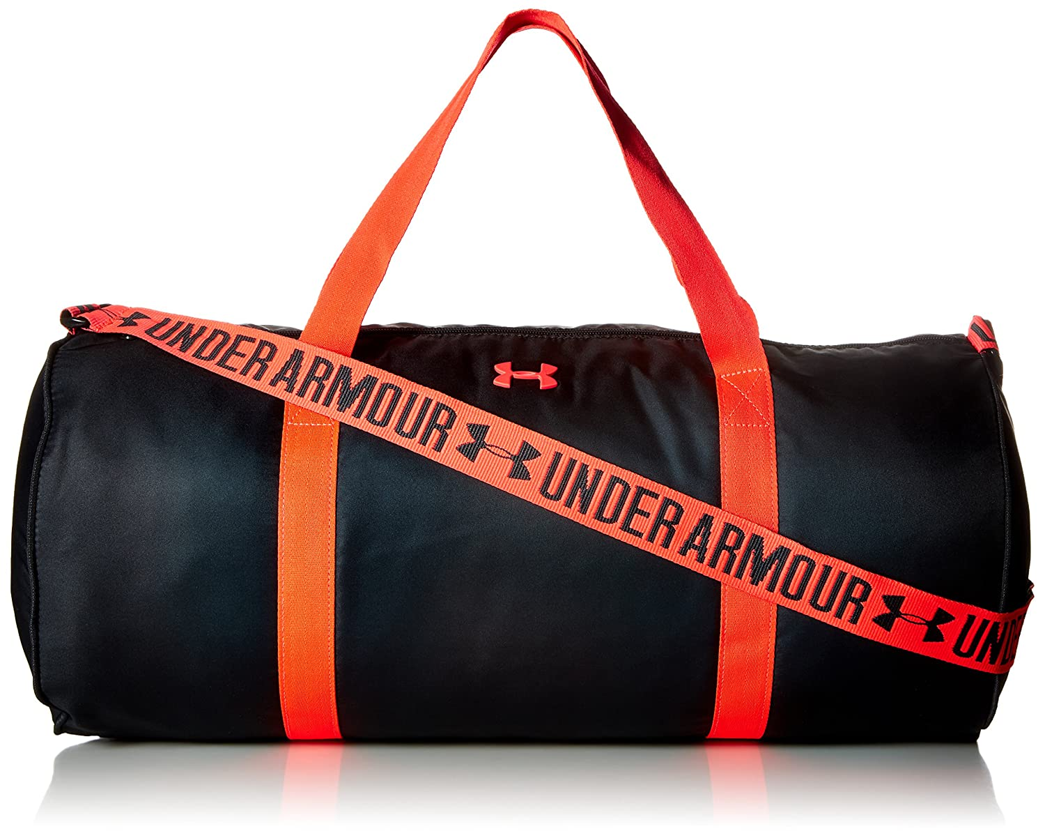 621f4b1fa5 Under Armour Anthracite Marathon Polyester Red Gym Bag (1294743)   Amazon.in  Bags