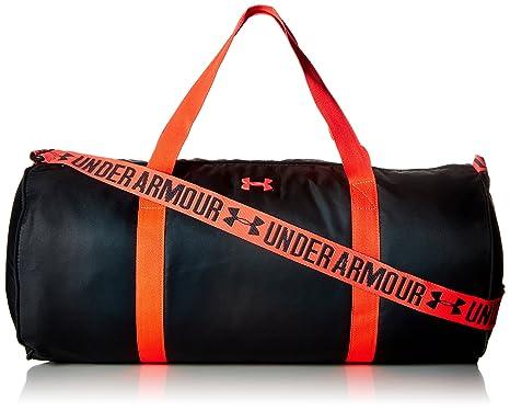 db4338114765 Under Armour Anthracite Marathon Polyester Red Gym Bag (1294743 ...