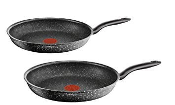 Tefal C6839002 Lot de 2 Poêles, Aluminium, Noir, 28 cm  Amazon.fr ... 4bac47b8c6a2