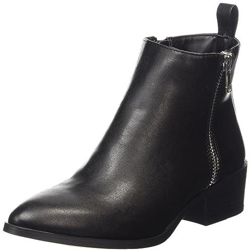 New Look Corky - Botines Mujer, color negro, talla 39 EU (6 UK
