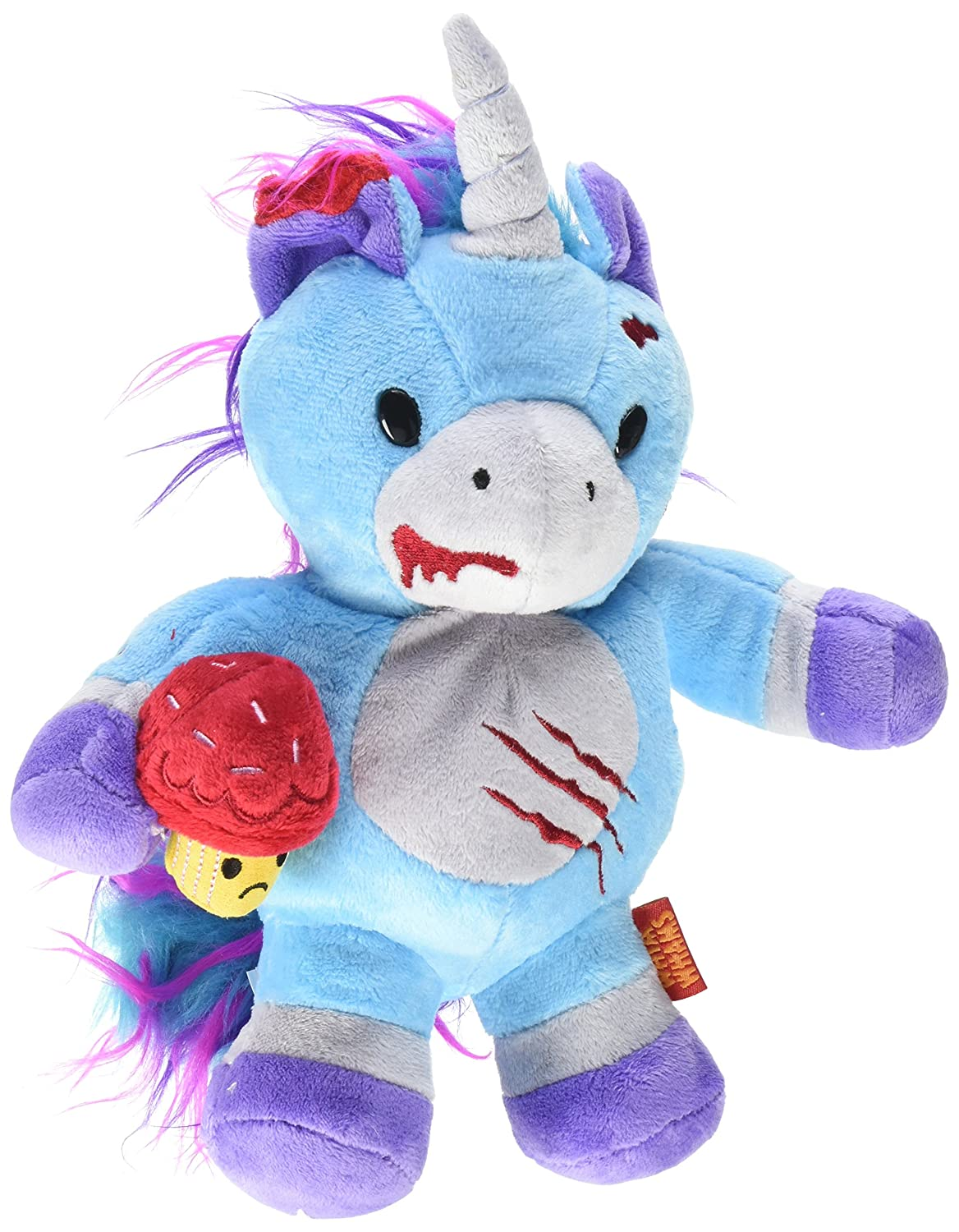 WhimWham Unicorn Cupcake Zombie 8-Inch Plush Soft Toy Stuffed Animal