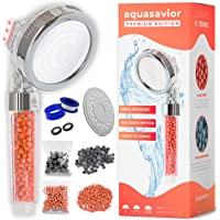 Aquasavior Alcachofa ducha alta presión 200%, teléfono ducha con filtro iónico antical, cabezal ducha baño 35% ahorro…