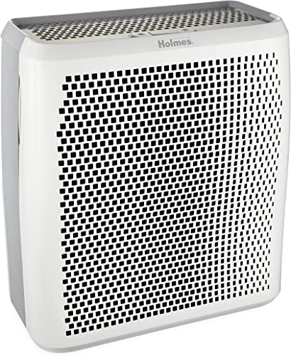 HOLMES True HEPA Air Cleaner and Odor Eliminator with Digital Display for Large Spaces, HAP759-NU, Room