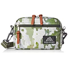 Padded Shoulder Pouch: Tree Bark Camo