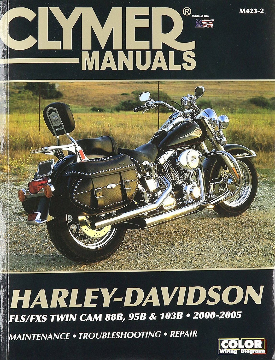 Clymer Repair Manual For Harley Softail Twin Cam 88 00 05 2000 Davidson Wiring Diagram Home Kitchen