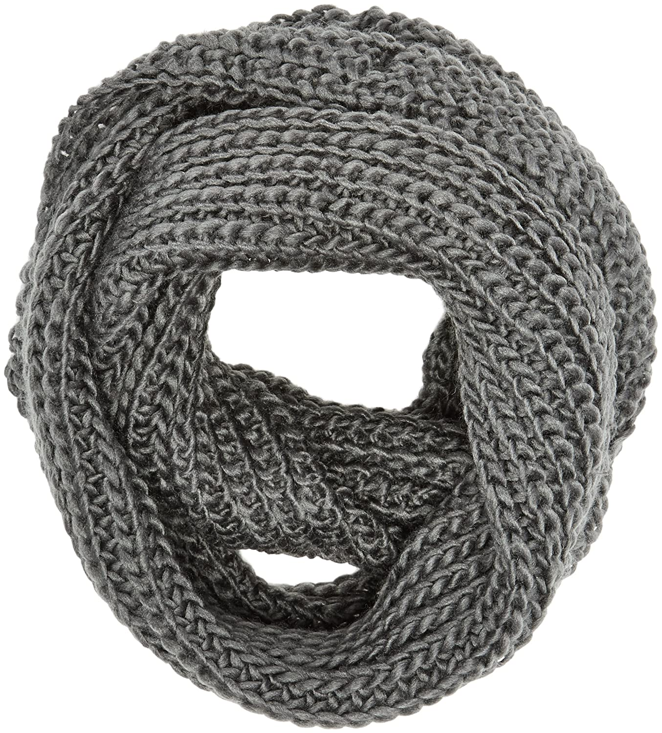 1331c18f60f1f Spinningdaisy Women's Chunky Knit Infinity Scarf Grey Color at Amazon  Women's Clothing store: Other Products