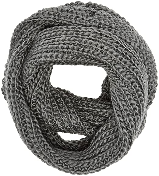 d9c5d1b379bca3 Image Unavailable. Image not available for. Color  Spinningdaisy Women s Chunky  Knit Infinity Scarf ...