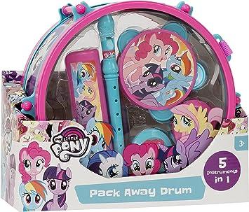 My Little Pony – 1383825 Pack Away Tambor Set: Juguetes y juegos - Amazon.es