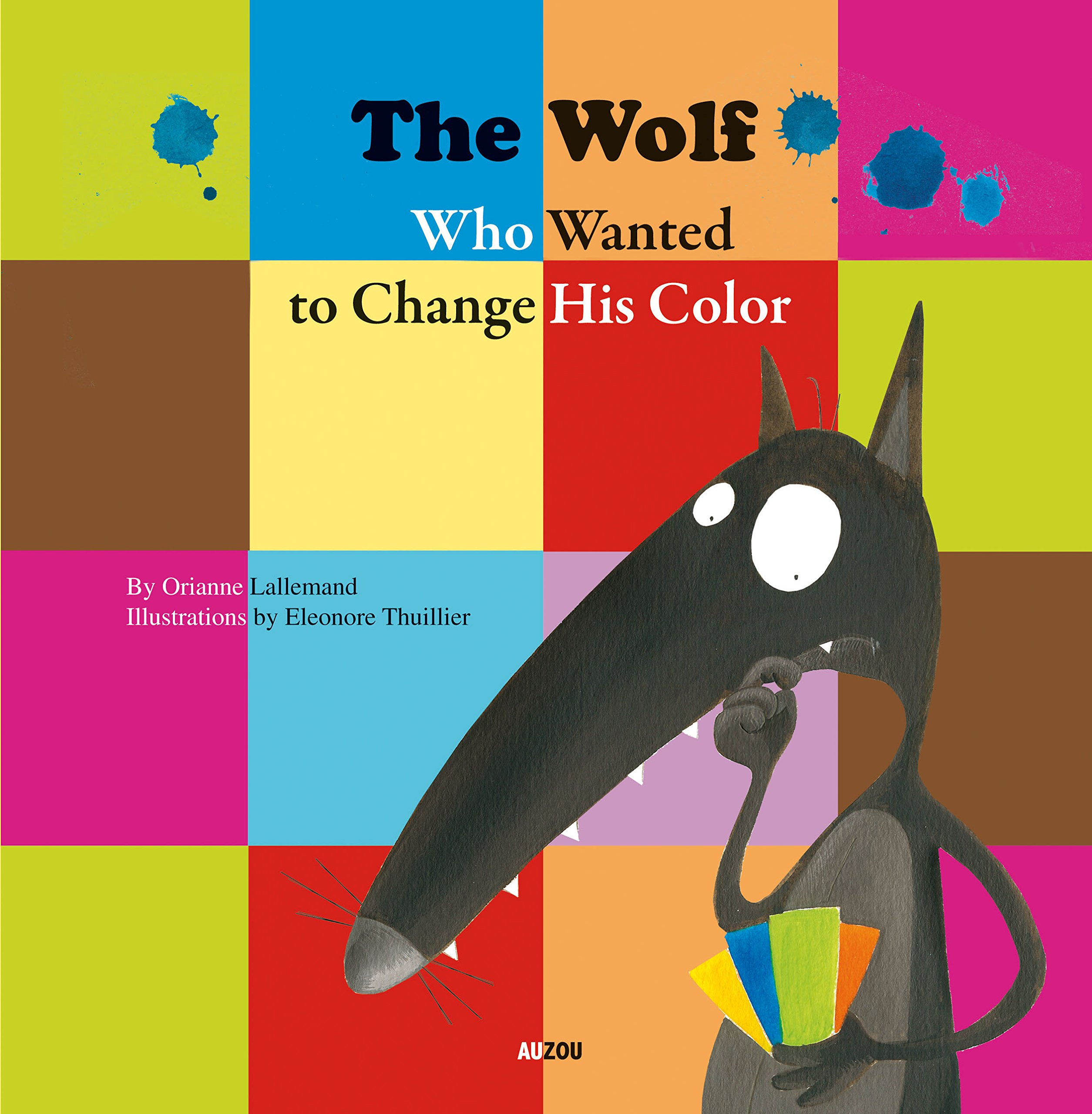 Read Online The Wolf Who Wanted to Change His Color pdf