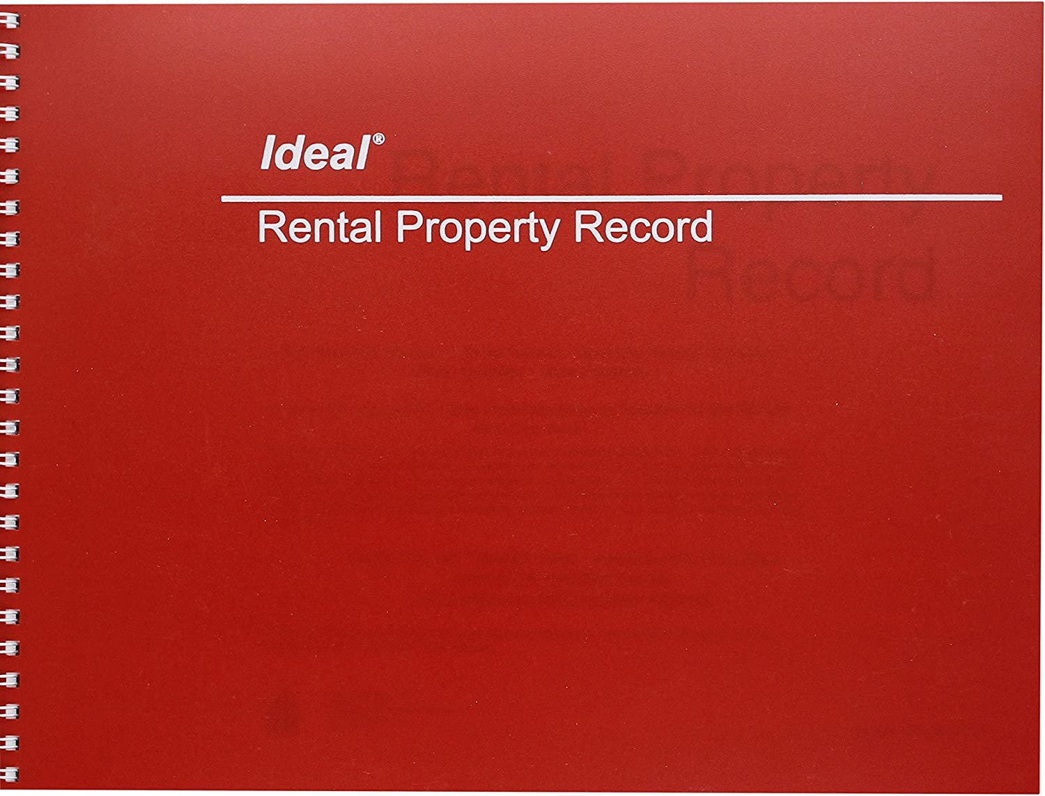 Dome Publishing Rental Property Record Book (DOMM2512)
