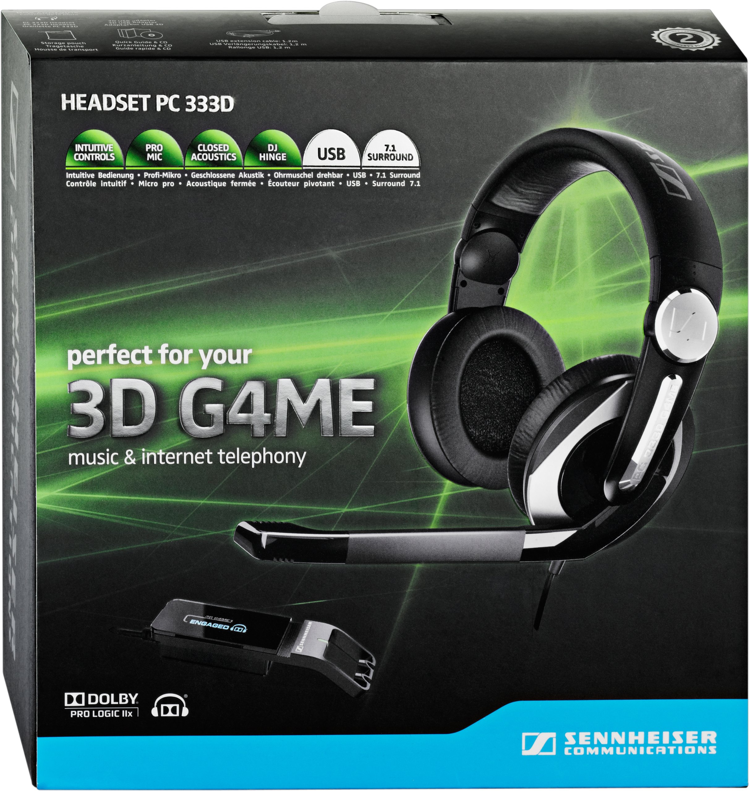 Sennheiser PC 333D Gaming Headset by Sennheiser (Image #5)